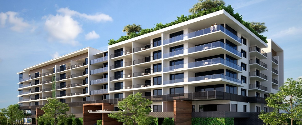 The Foundry Apartments - Woolloongabba